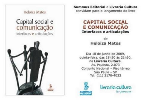 Capital Social e Comunicação - Interfaces e Articulações (Heloiza Matos, Summus Editorial)