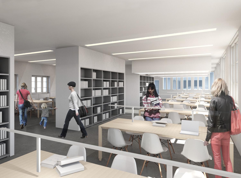 salle à lecture