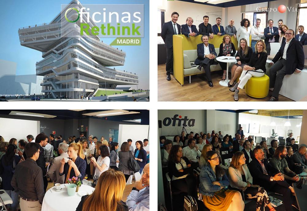 Evento Oficinas Rethink Madrid
