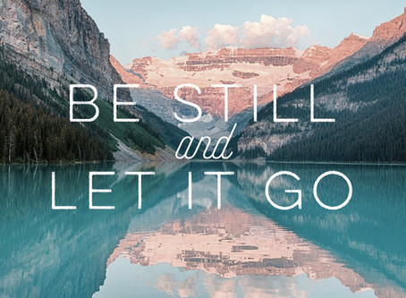 """A Prayer for """"Letting Go"""""""