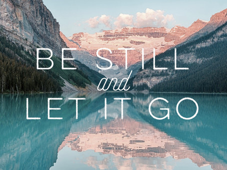 "A Prayer for ""Letting Go"""