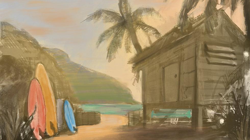 Hawaiian Dream Color