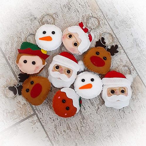 Chaveiros de Natal