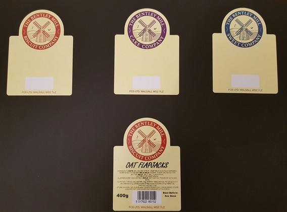 Shaped Food Labels