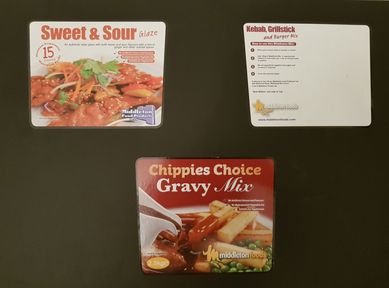 Digital Labels for Food Products