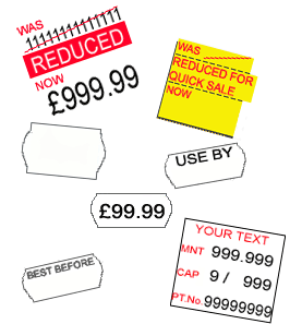 Meto Price Gun Labels