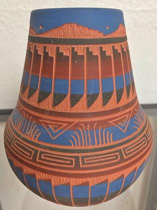 """""""Navajo Shoshone"""" ceramic vase"""