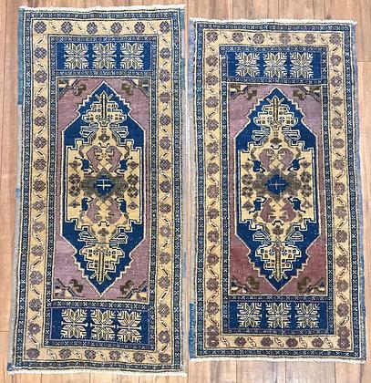matching rug pair