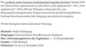 unique research umfrage profil josef kalina peter hajek ausblick ins neue jahr 2019