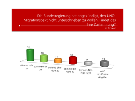 Profil-Umfrage: UNO-Migrationspakt