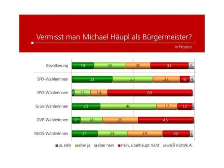 Krone Umfrage: Michael Häupl
