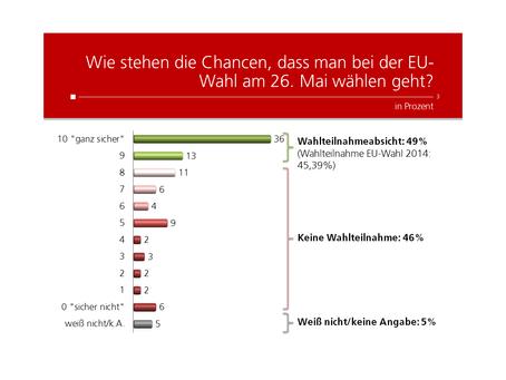 Profil-Umfrage: Teilnahme EU-Wahl