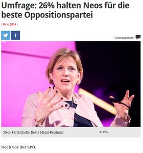 unique research josef Kalina peter hajek Profil Umfrage wer macht die beste oppositionsarbeit spoe oevp fpoe neos jetzt