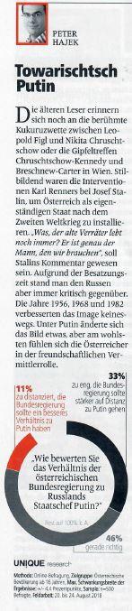 Unique research Peter Hajek Beziehungen Russland Oesterreich