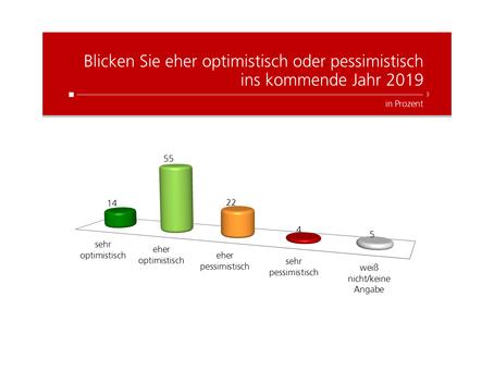 Profil-Umfrage: Ausblick auf 2019