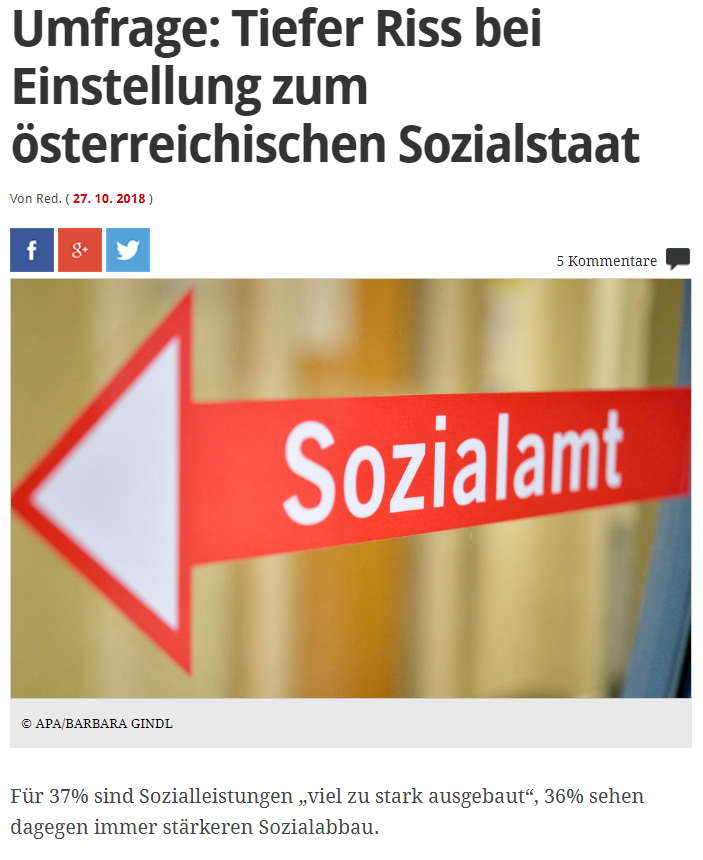 unique research umfrage profil josef kalina peter hajek profil online meinung zum sozialstaat ausbau absicherung soziales netz