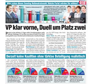 unique research peter hajek josef kalina umfrage politik wahlen nationalratswahl 2019 print artikel heute