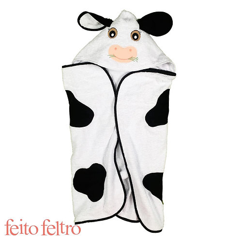 Toalha de Banho - Vaca Ximbica