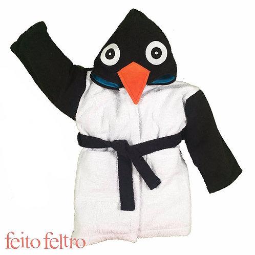 Roupão de Banho - Pingo Pinguim