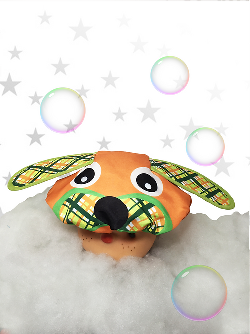 Touca de Banho - Cachorro Lupi