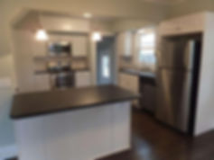 Kitchen update, kitchen face lift, painting, custom cabinets, lighting, flooring, plumbing