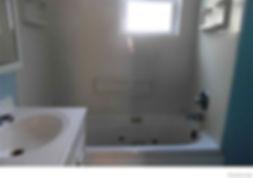 Bathroom remodel, bathroom ideas, small bathroom, painting, new tub, new shower, lighting, plumbing
