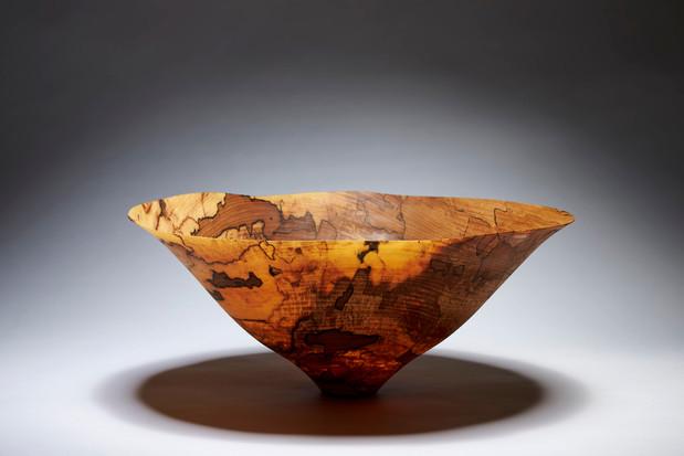 Drejet træskål af Merete Larsen