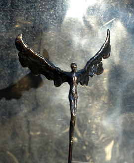 Bronzeskulptur af Jens Galschiøt