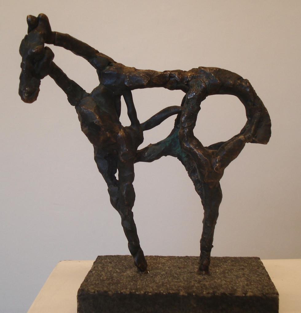 Bronzeskulptur af Pia Skogberg