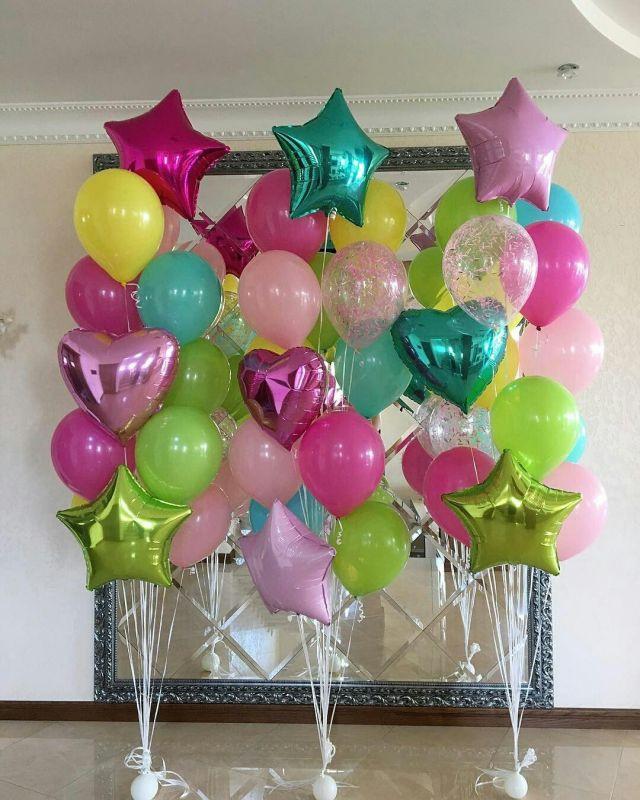 Оформление воздушными шарами в Твери (99