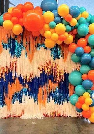 Фотозона из шаров в Твери