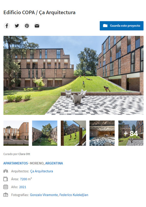 Archdaily  - COPA