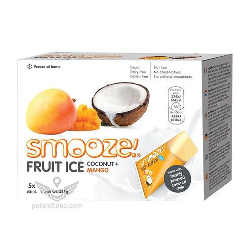 Smooze fruit ice coconut Веганское мороженое для заморозки 325мл манго