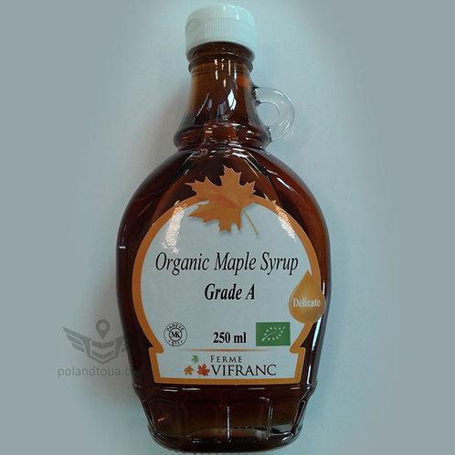 Vifranc maple syrup BIO Кленовый сироп БИО 250мл
