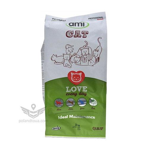 Веганский корм для кошек AMI Cat 3кг