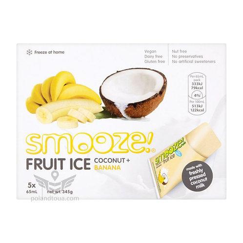 Smooze fruit ice coconut Веганское мороженое для заморозки 325мл банан