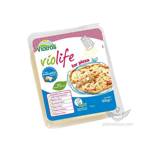 Веганские сыры Violife моцарелла для пиццы Mozzarella 200г