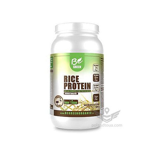 Рисовый протеин Be Green Organic Rice Protein Белок рисовый 1кг вкус ванили