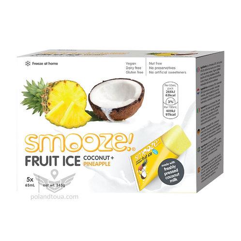 Smooze fruit ice coconut Веганское мороженое для заморозки 325мл ананас