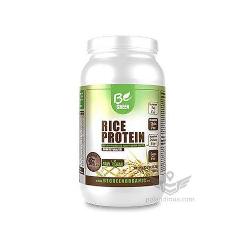 Рисовый протеин Be Green Organic Rice Protein Белок рисовый 1кг вкус какао