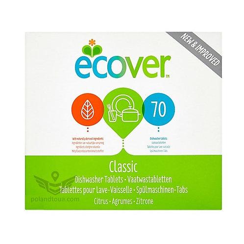 Ecover Auto Dish Tabs 70шт. Эковер таблетки для посудомоечной машины 1,4кг