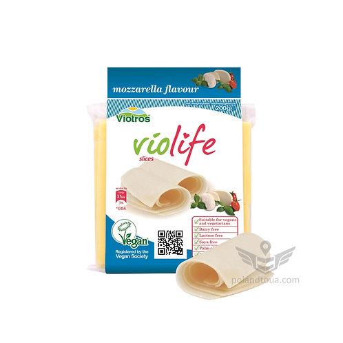 Веганский сыр Violife моцарелла в пластинках Mozzarella пластинами 200г