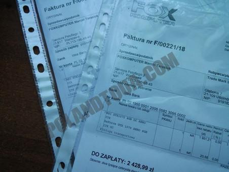 пример фактуры VAT