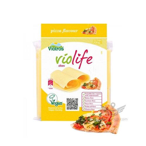 Веганский сыр Violife со вкусом пиццы в пластинках сыр пластинами 200г