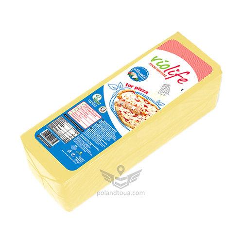 Веганский сыр Violife моцарелла для пиццы Mozzarella 2,5кг