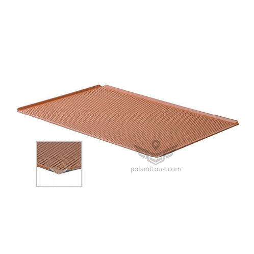 Пекарский лист перфорированный из алюминия с силиконовым покрытием  53x32,5 см