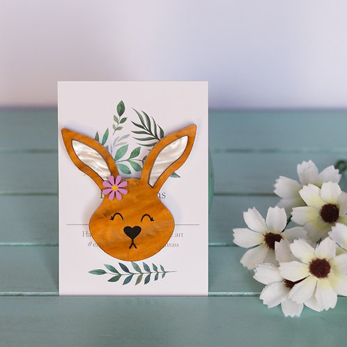 Elsa Designs - Brown Bunny
