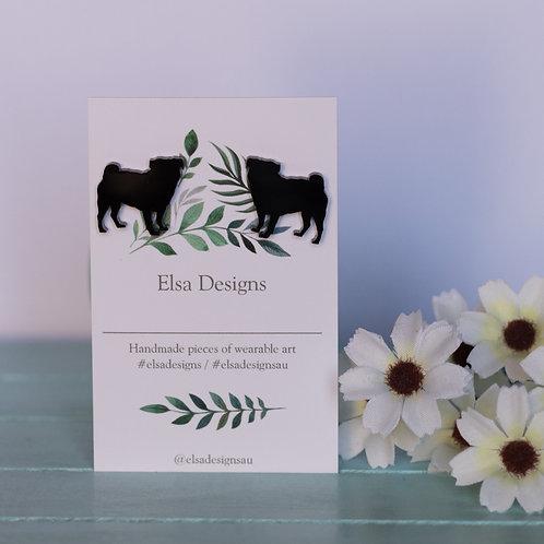 Elsa Designs - Pug Studs