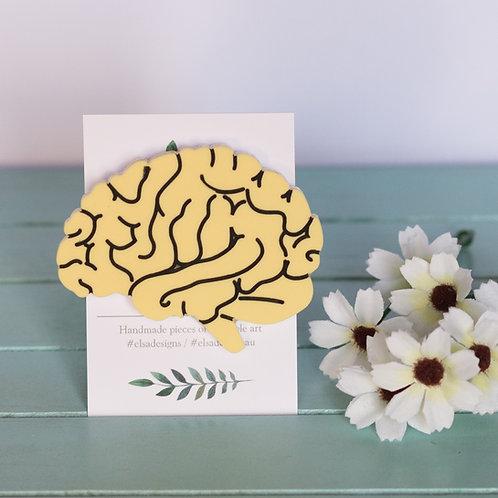 Elsa Designs - Yellow Brain