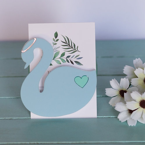 Elsa Designs - Blue Swan